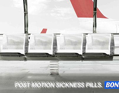 BONINE. Post motion sickness pills.