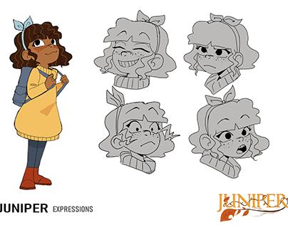 Juniper- Character design
