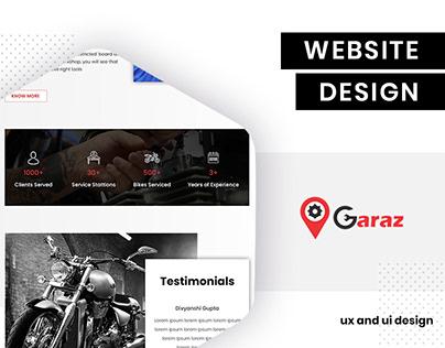 UI/UX Design for OGaraz by BrandzGarage