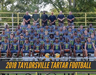 2018 Taylorsville Tartar Football Graphics