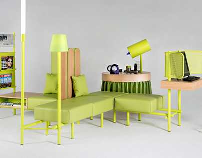 Hotel Lobby Furniture modules for Ibis Styles