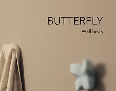 Butterfly-Wall hook