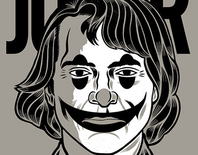 Joker (screenprint).