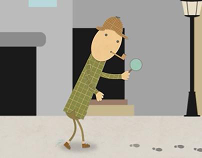 Google Doodle - Sherlock Holmes
