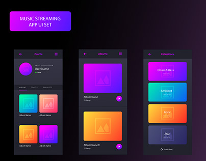 MUSIC STREAMING APPLICATION