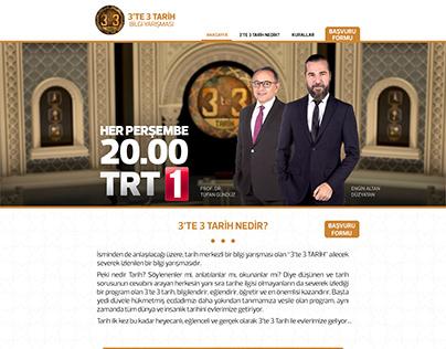 3'te 3 Tarih Web Sitesi Tasarımı