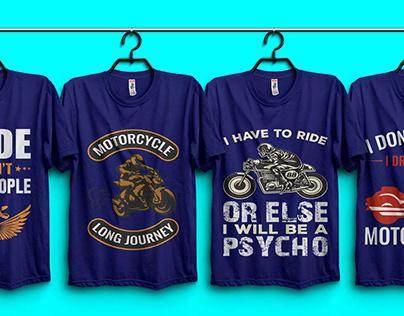 Bike T-shirt Design Bundle.