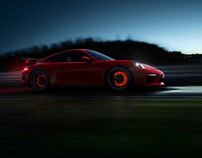 Porsche GT3 // Simon Puschmann
