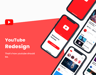 Youtube Redesign - Mobile Concept
