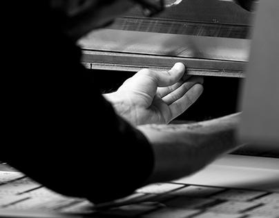 BEHIND THE SCENE // Imprimerie Jamet