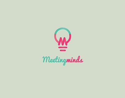 Meetingminds smart logo design
