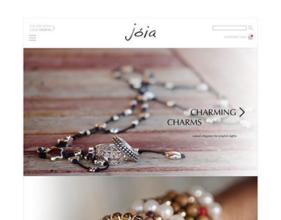 3 Projects in 3 Days: Jóia - Luxury Jewelry Web Site