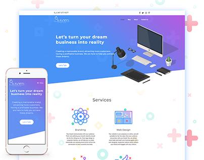 Susam Creative - Website Design