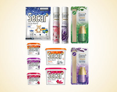 Secar - Brand Strategy, Product, Packing and Identity