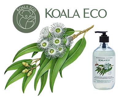 20 Illustrations Used On Packaging for Koala Eco