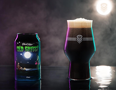 BLACKHOPS BREWERY STAFF CAN DESIGNS