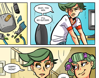 Old webcomic Project - Going to rework completely