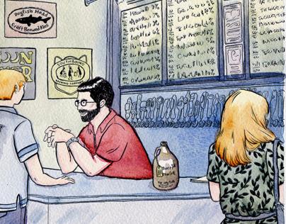 Process: The Beer Growler