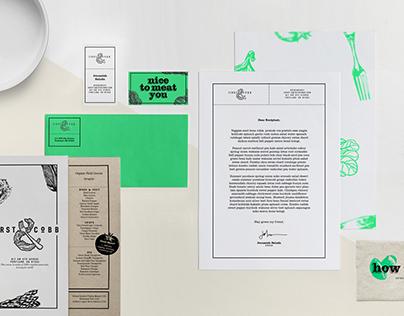 1st & Cobb  -  brand, menu, web