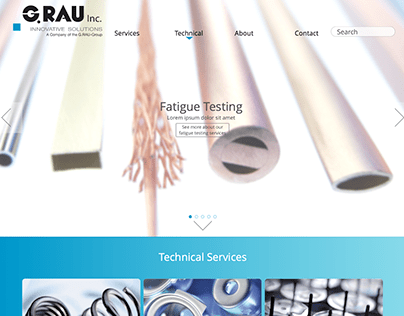 G.RAU Inc Website