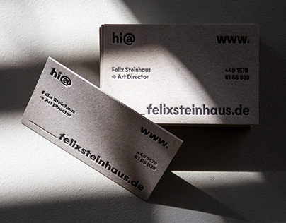 Personal | Business Cards