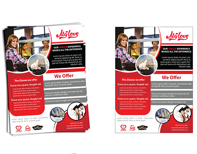 Corporate Flyer Design with Mockup Free Download