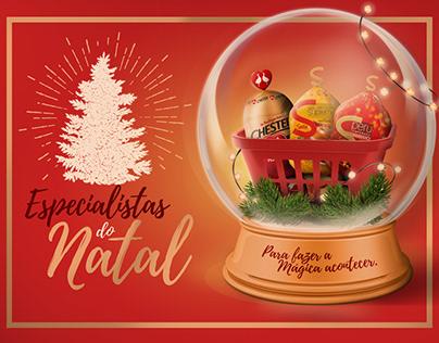 Especialistas do Natal