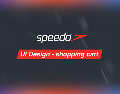 UI Design - shopping cart (speedo)