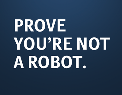 LUISS   PROVE YOU'RE NOT A ROBOT