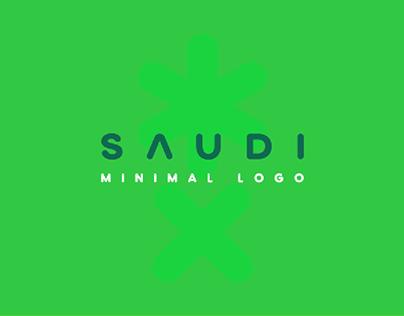 Saudi minimal logo