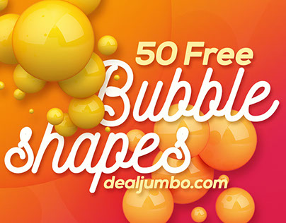FREE Colorfull 3D Bubbles