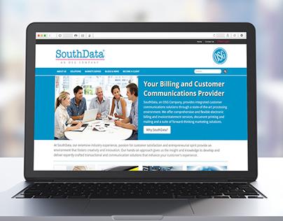SouthData, Inc. Responsive Website