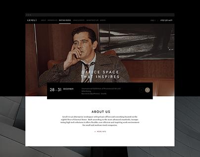 Level8 - coworking website