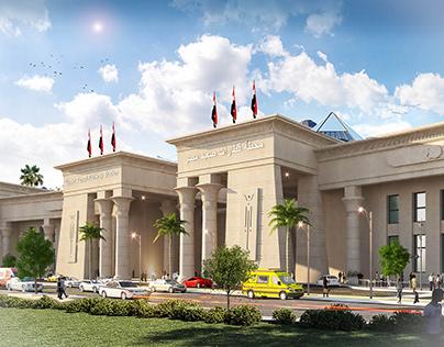 Upper Egypt train station