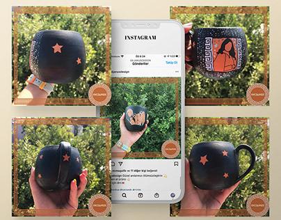 İnstagram Profil Tasarımı/Design of Instagram Profile