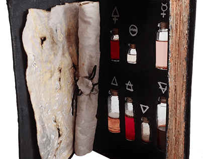 Alchemy Magic Book