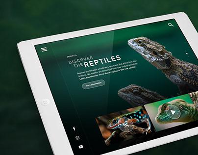 Wildlife Encyclopedia App Design