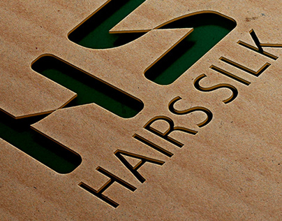 Hairs Silk Logo design