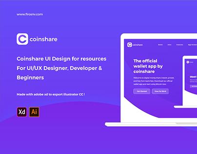 Coinshare App - UI KIT