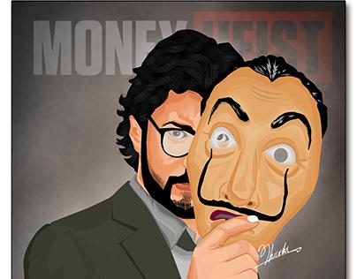 El Professor Money Heist