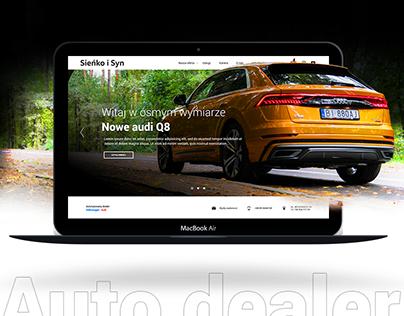 Audi & Volkswagen Autodealer UI/UX Website design