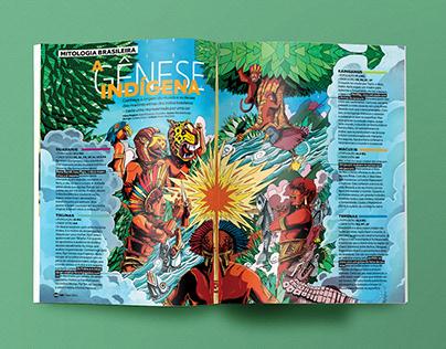 Pôster mitologia indígena