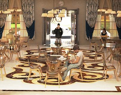 La Deja Vu Cafe - Interior Design