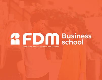 FDM Business School — branding
