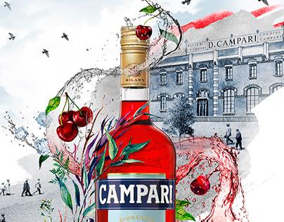 Gruppo Campari Ads project