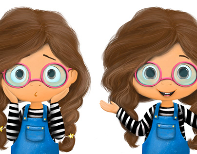 Katie - main character for upcoming children's book