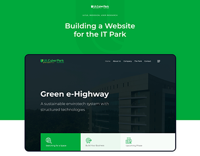Website for UL Cyber Park