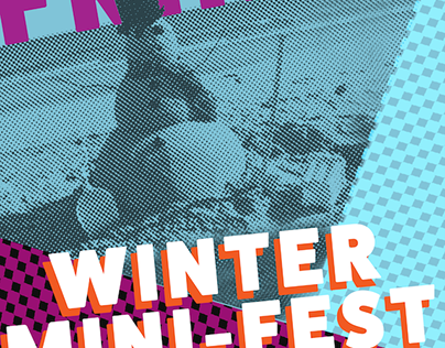 Winter Mini-Fest Poster Design