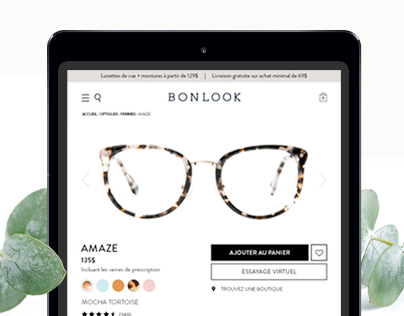 BonLook - Product Page