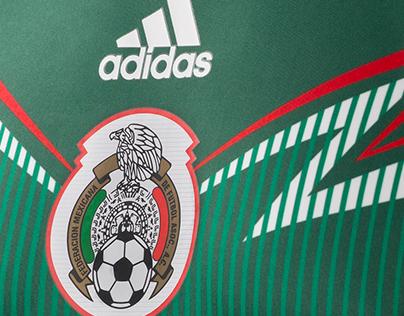 Adidas Away selección mexicana FMF